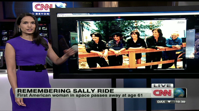 Saying goodbye to Sally Ride