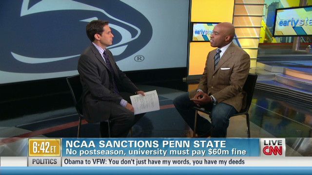 Tiki Barber: NCAA sanctions are 'harsh'