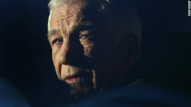 Sandusky denies guilt in jailhouse tape