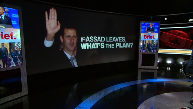 Is there any plan for post-Assad Syria?
