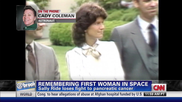 Remembering Sally Ride
