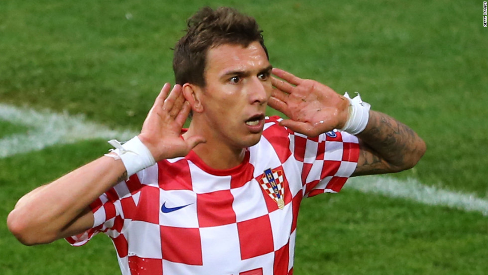<strong>Vfl Wolfsburg to Bayern Munich</strong>A surprise star of Euro 2012, Mario Mandzukic scored three times in three games for Croatia to be the tournament's equal top scorer. Bayern paid Bundesliga rivals Wolfsburg $15.75 million for the 26-year-old striker's services.