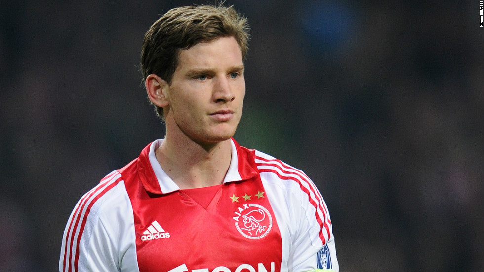 <strong>Ajax to Tottenham Hotspur</strong>Belgium international Jan Vertonghen is already being touted by Tottenham fans as the long-term replacement for injury-plagued former captain Ledley King in the center of defense. His protracted $11.5 million transfer could prove key to the fortunes  of new Spurs boss Andre-Villas Boas.