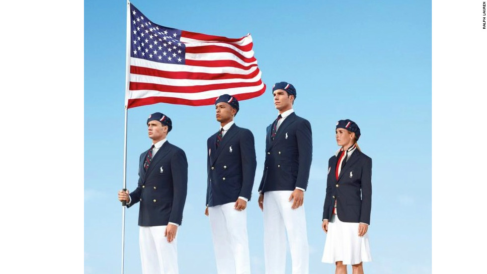 Controversy erupted when it emerged the Ralph Lauren-designed  U.S. kit had been manufactured in China. Despite the outsourced production, the New Yorker's creations are quintessentially American.