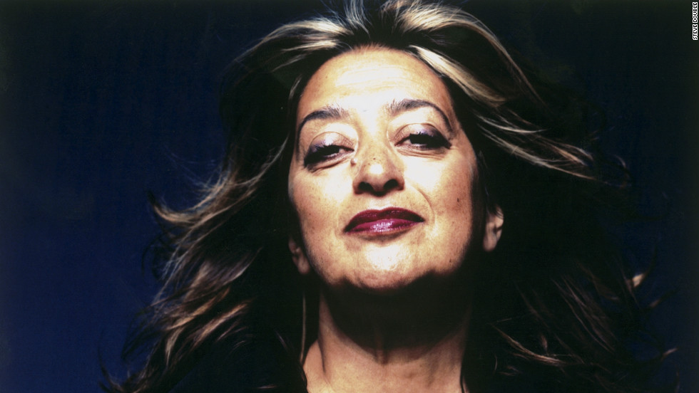 Iraqi-born Zaha Hadid is one of the greatest living architects, and the first woman to win the Pritzker Prize.