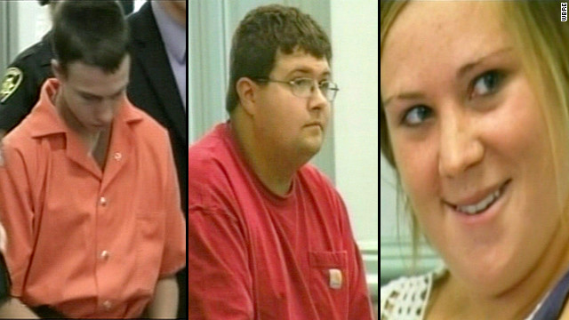 From left: Tyler Cole Spencer, Mark Trail and Cassandra Robertson are accused of terrorizing a Jewish camp in Pennsylvania.
