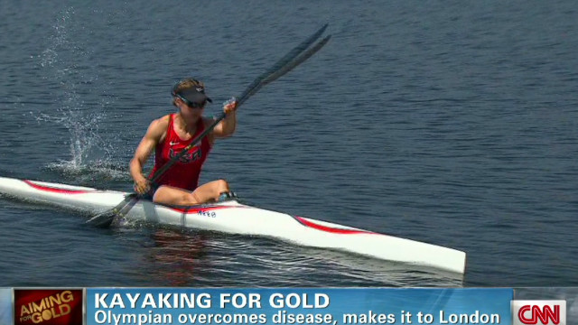 Olympic sprint kayaker overcomes disease