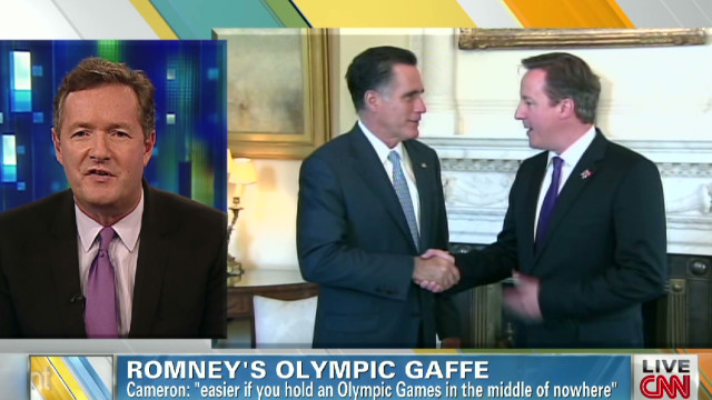 Piers discusses Romney press backlash