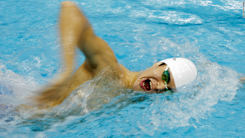 Swimmer Sun Yang aims to be the first Chinese male to win gold in his sport.