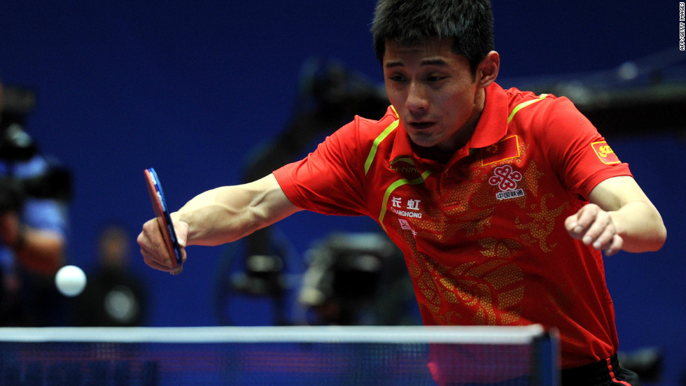 "Zhang Jike hopes to score big in China's ""national ball game"" when he competes in table tennis."
