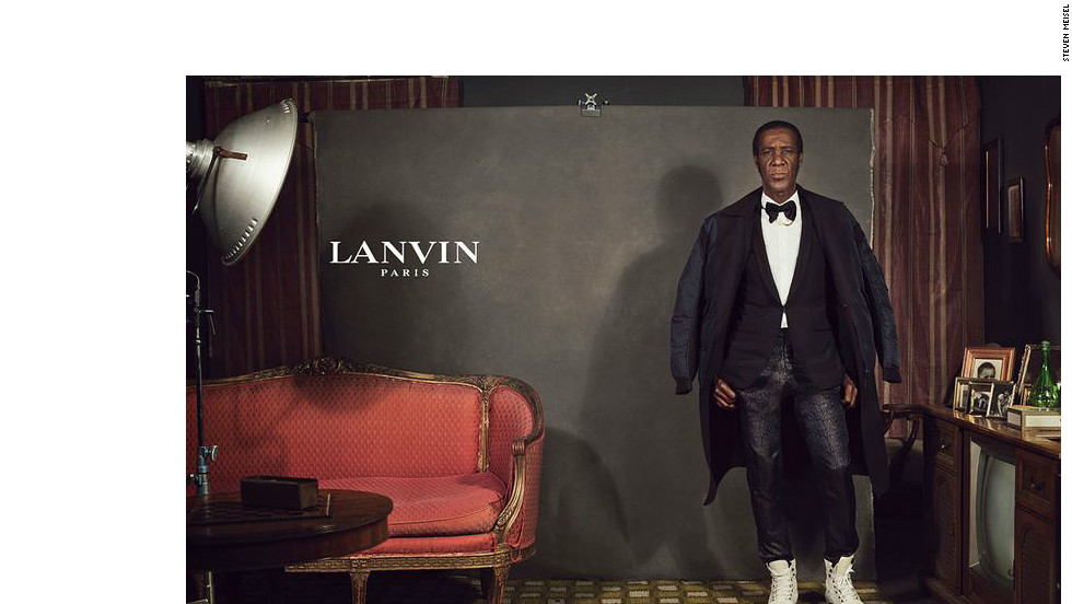 Casting agents for Lanvin found this model when he exited a New York bar.
