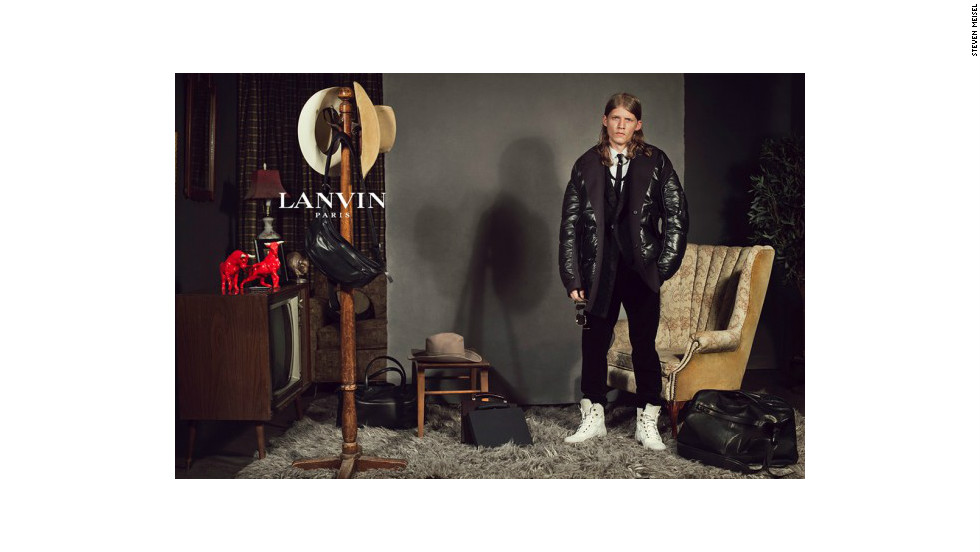 Lanvin creative director Alber Elbaz says nonprofessional models add realism to ad campaigns.