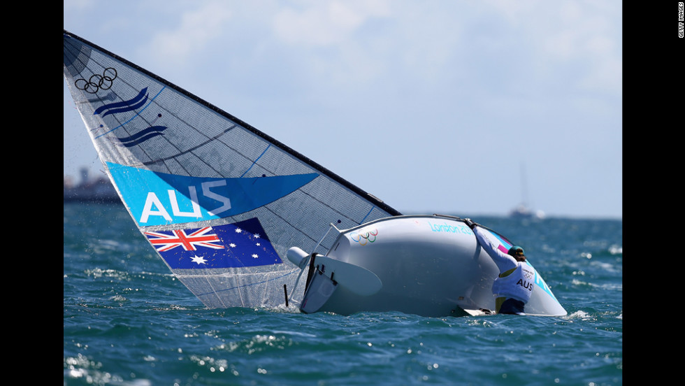 Australia's Brendan Casey regrets taking sailing lessons from Capt. Quint.