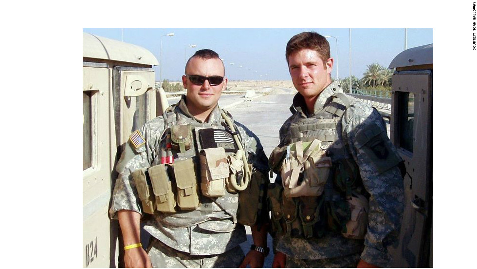 Galloway served two tours in Iraq with the 101st Airborne out of Fort Campbell, Kentucky, the first in 2003 and the second in 2005.