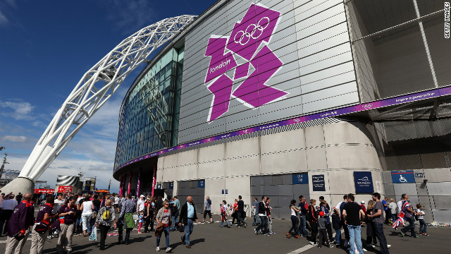 London's world-famous Wembley Stadium is set to host the Olympic football finals next week.