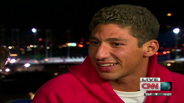 Syrian swimmer proud to swim for country
