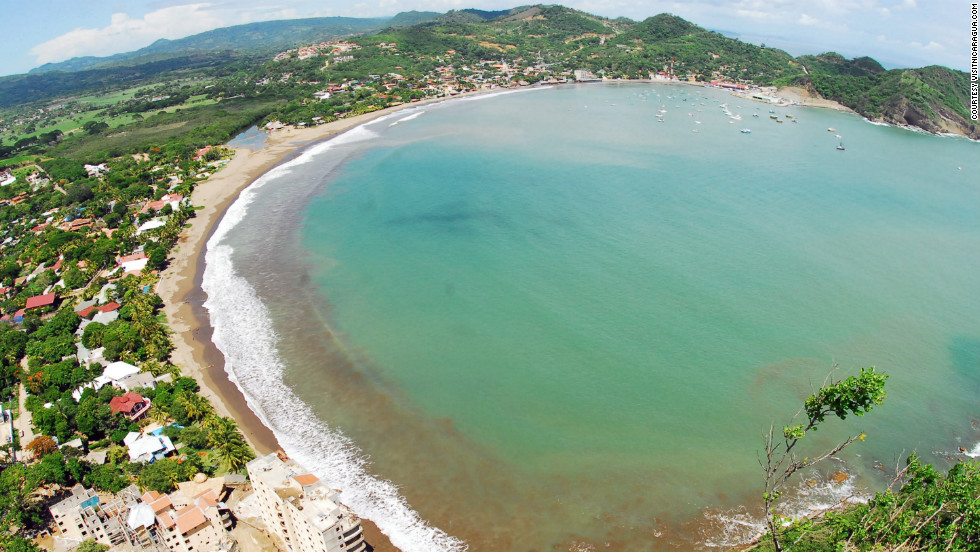 San Juan del Sur is a popular vacation destination on Nicaragua's Pacific coast.