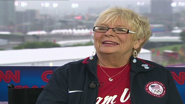 'Dorm mom' lends support to athletes