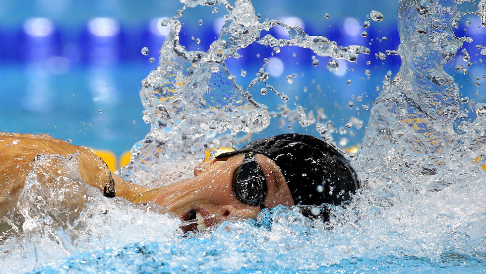 "U.S. swimmer Allison Schmitt competes in the women's 200-meter freestyle final on Day 4 of the London Olympics on Tuesday, July 31. Check out <a href=""http://www.cnn.com/2012/07/30/worldsport/gallery/olympics-day-three/""><strong>Day 3 of competition</a></strong> from Monday, July 30. The Games ran through August 12."