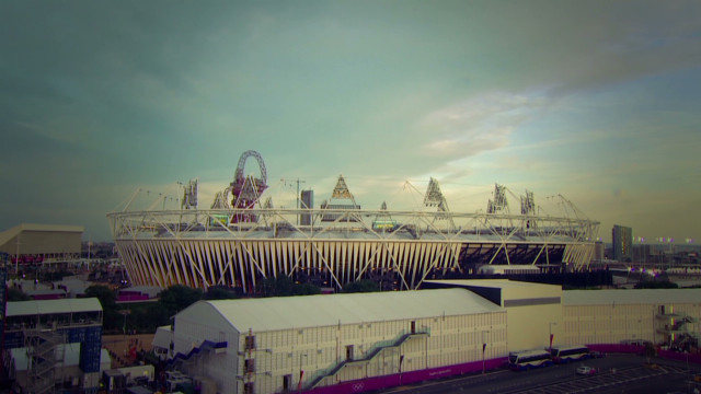 Beautiful time-lapse of Olympic Stadium