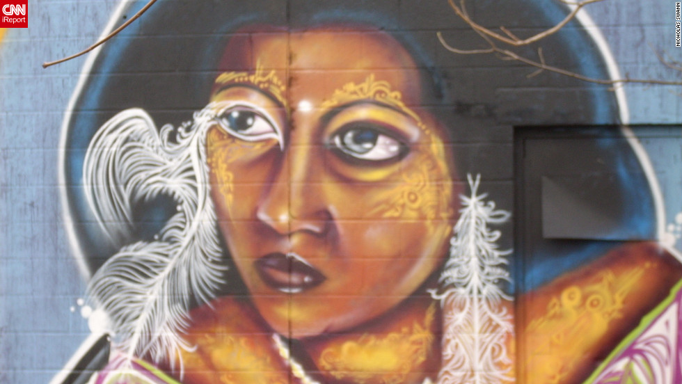 "Street art from Rochester, New York. ""The culture of street art in Rochester in my opinion is very advanced,"" <a href=""http://ireport.cnn.com/docs/DOC-798157"">iReporter Nick Swann</a> said."