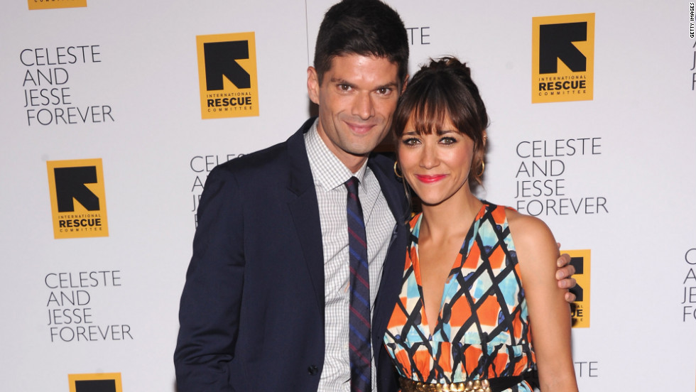 "Will McCormack and Rashida Jones attend the New York premiere of their movie ""Celeste and Jesse Forever."""