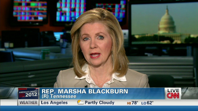 Blackburn: Voters want Romney on trail