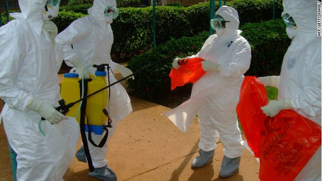 Fighting to contain Ebola outbreak