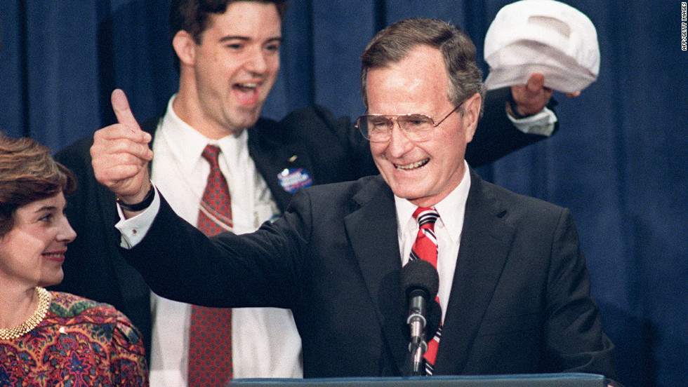 "Still, even George H.W. Bush could manage approachable and ""nice"" -- recall Dana Carvey's send-up -- compared with Michael Dukakis' beige speaking style."