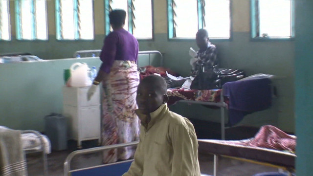 Hospital in middle of Ebola crisis