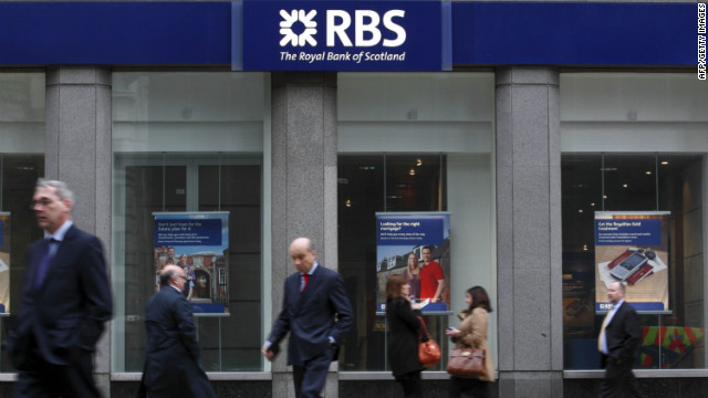 The Royal Bank of Scotland is majority-owned by the UK government. (File)