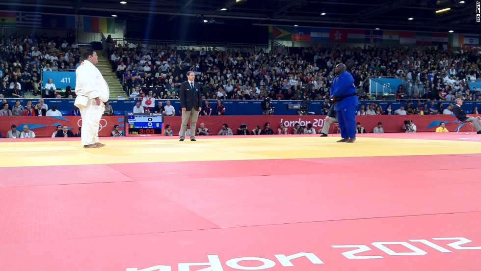 Ricardo Blas Jr. is following in the footsteps of his judokan father, Ricardo Blas, who became Guam's first Olympian in 1988 and is now president of the country's Olympic association. Blas Jr competed in Beijing but was defeated in the first round of the men's +100 kg judo, consequently, the 2012 Games demand progress. As London's heaviest athlete -- at 218kg -- he is a formidable opponent.