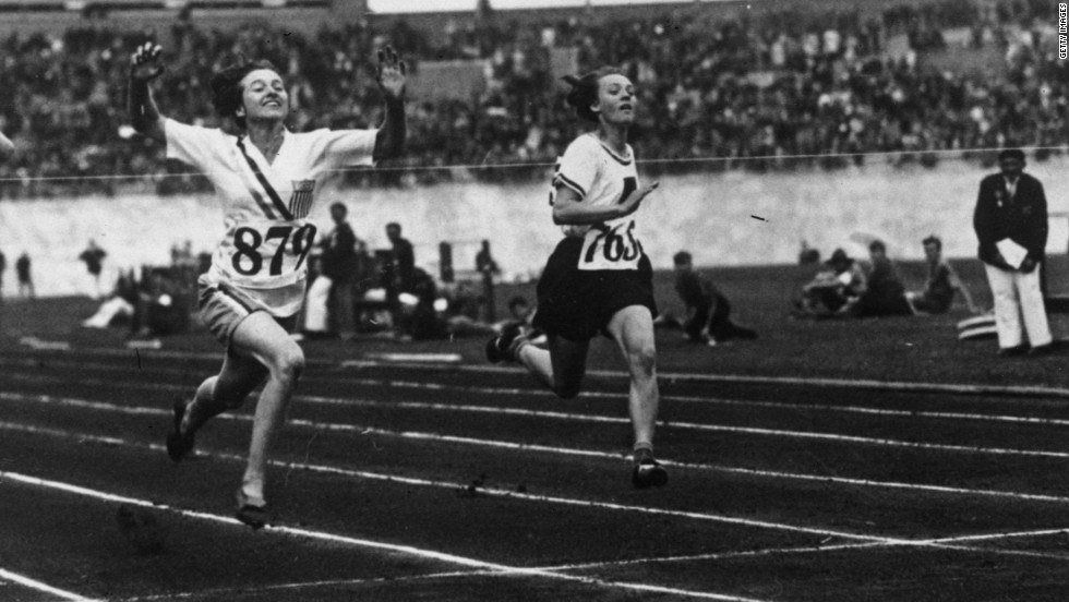 Golden girl: The first Olympic speed queen
