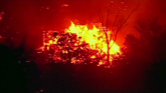 Wildfires destroy homes in Oklahoma