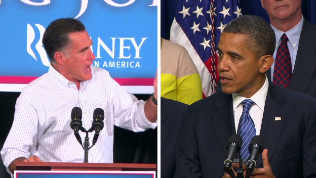 Fistfights over jobs and Romney's taxes