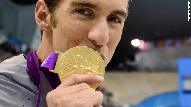 Phelps plans for the future