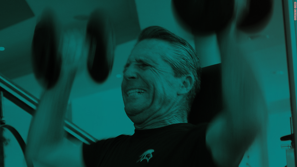 Gary Player is renowned for his incredible fitness regime which despite his advancing years shows no sign of abating.