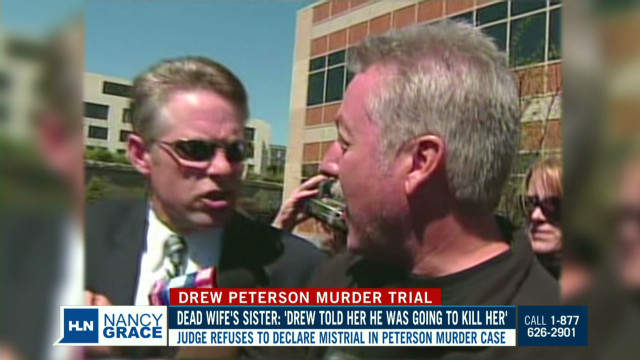 Nancy grills Drew Peterson's attorney