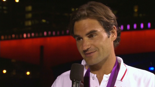 Federer 'very proud' of silver medal