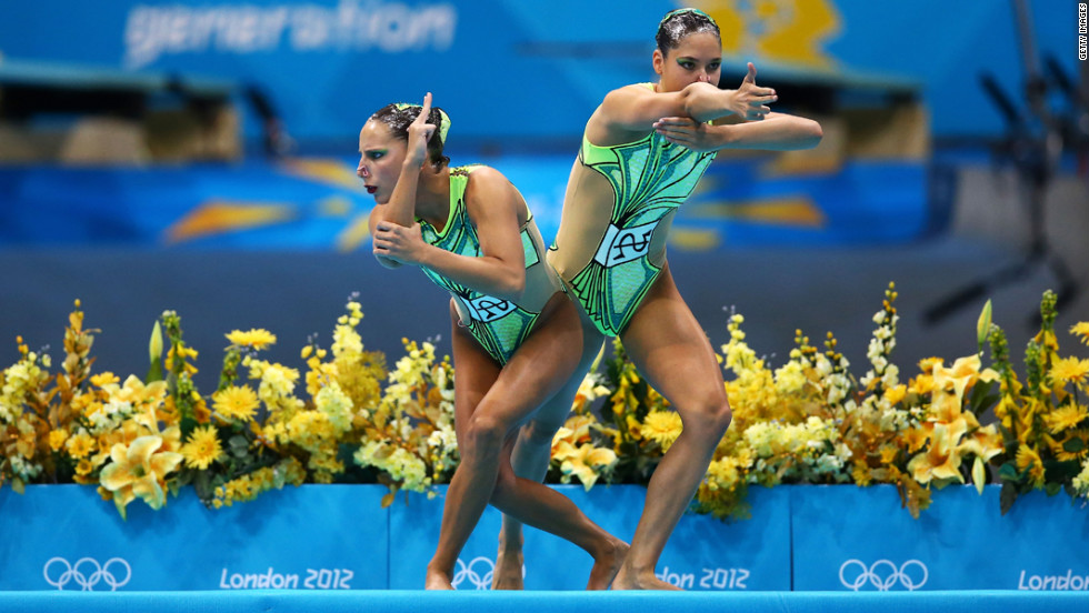 "Swiss synchronized swimmers Pamela Fischer and Anja Nyffeler based their routine on the ""Bang Bang (My Baby Shot Me Down)"" sketch from a 1972 episode of ""The Sonny & Cher Comedy Hour."""