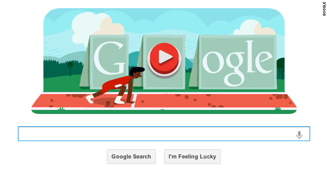 Google's newest workplace time-waster is an interactive, Olympics-themed hurdle race.
