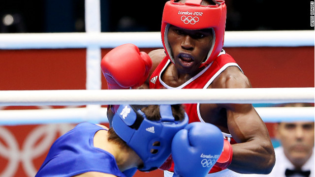 Cameroon boxer Serge Ambomo is one of seven athletes who have gone missing from the Olympics