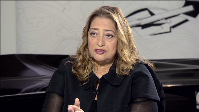 zaha hadid 39 would they still call me a diva if i was a man cnn. Black Bedroom Furniture Sets. Home Design Ideas