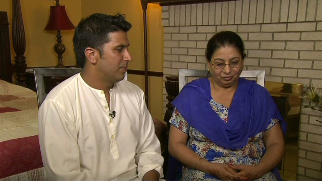 Mother and son mourn heroic Sikh victim