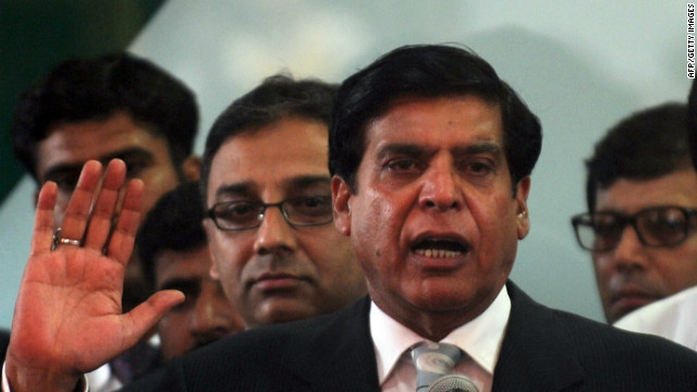 Pakistani PM faces contempt charges