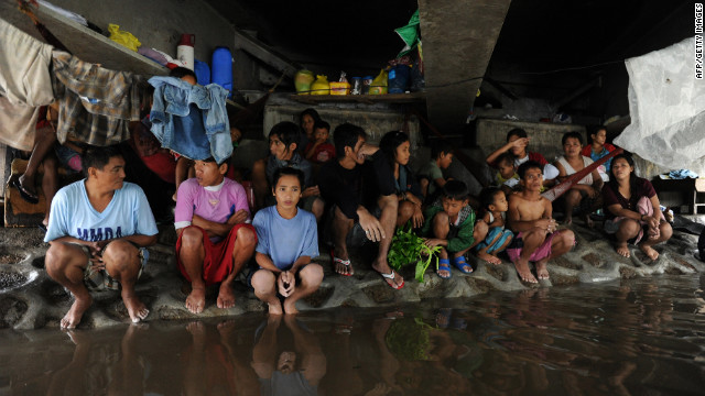 Floods recede in the Philippines