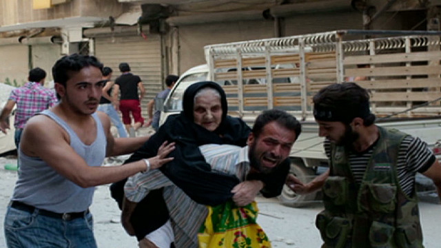 Photos capture intense Syria images