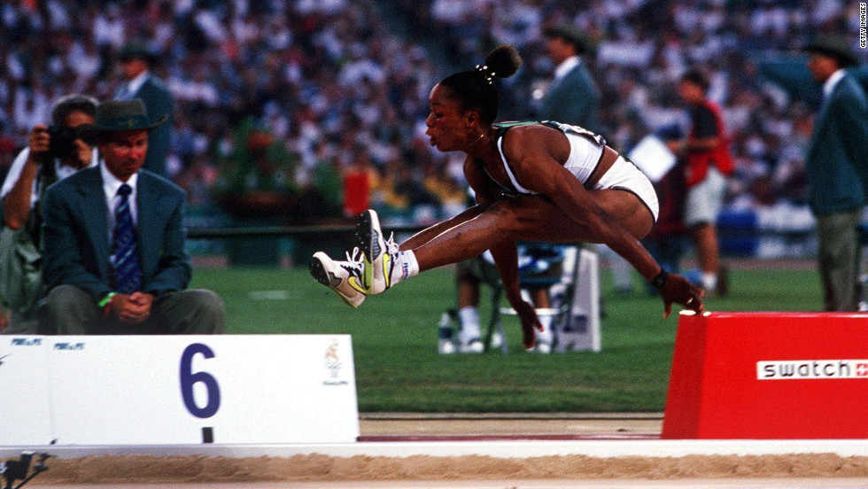 Chioma Ajunwa won the women's long jump event at the 1996 Olympic Games, becoming Nigeria's first individual Olympic gold medalist.