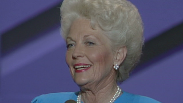 1988: Ann Richards takes aim at Bush