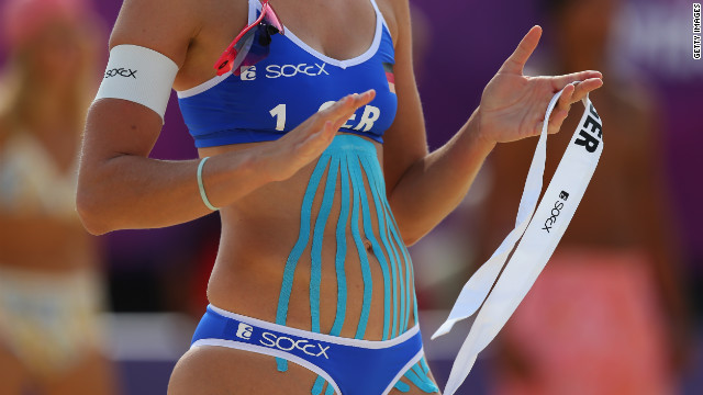 Kinesio tape: The latest Olympic accessory
